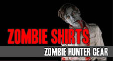 Zombie T-Shirts and Humans vs Zombies HVZ Gear