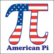 American Pi - funny math t-shirt