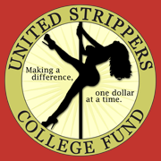 United Strippers College Fund T-Shirt