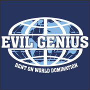 Bent on world domination
