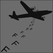 Dropping F Bombs funny t-shirt offensive fuck plane