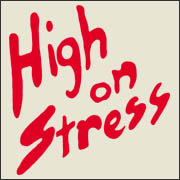 High On Stress - funny movie replica t-shirt