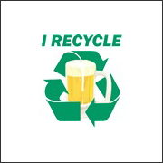 I Recycle Beer T-Shirt Piss