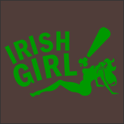 Irish Girl Bada Bing T-Shirt