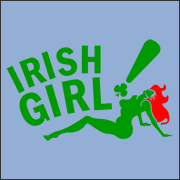 Redhead Irish Girl Bada Bing T-Shirt
