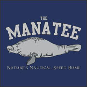 The Manatee - Nature's Nautical Speed Bump Funny Offensive T-Shirt