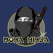 Mona Ninja   funny art history ninja t-shirt