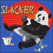 Slacker Panda - funny t-shirt