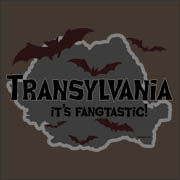 Transylvania: It's Fangtastic - funny halloween vampire rocky horror t-shirt